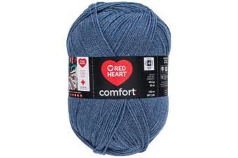 (Denim Heather) - Red Heart Comfort Yarn