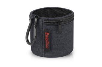 (Small Size: 70 × 70 mm, Denim-Color) - EasyAcc Speaker Case for Anker SoundCore/Betron KBS08 BPS60 Mini Bluetooth Speaker Carry Case Pouch Wireless Bluetooth Speakers Bag Portable Wear