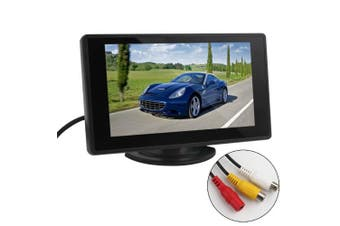 Car Parking Assistance Monitor - BW 11cm TFT LCD Car Monitor Car Rearview Monitor with LED Backlight Display for Vehicle Backup Cameras