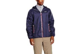 (Small, Blue - Blue - Navy) - CMP F.LLI Campagnolo Men's Raincoat