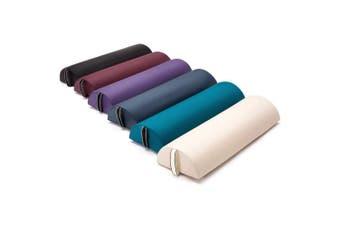 (Large Half-round 622, English violet) - Dr.lomilomi Large Half-round Massage Bolster 622 (Large Half-round 622, English violet)