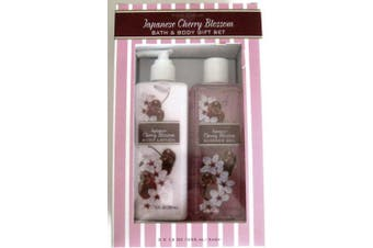 Pure Luxury Japanese Cherry Blossom Bath & Body Gift Set