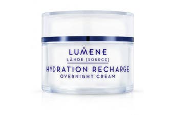Lumene Lahde Hydration Recharge Overnight Cream, 1.69 Fluid Ounce