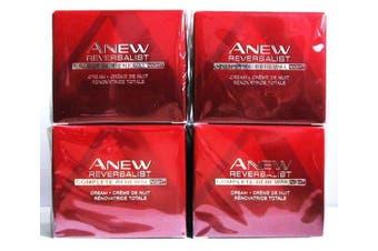 4 x AVON Anew Reversalist Complete Renewal Night Cream 50ml - 1.7oz SET !