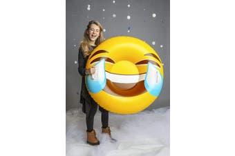 Big Mouth Toys BMST-TE Big Mouth Snow Tube Emoji, Multi Colour