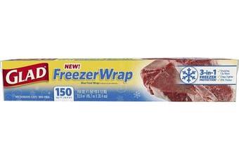 Glad Freezer Wrap, 14sqm Roll