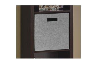 (Gray) - ClosetMaid 7116 Decorative Fabric Storage Bin, Grey