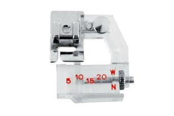 AKOAK Portable Adjustable Bias Binder Presser Foot Feet Kit for Sewing Machine Brother Singer Janome Juki Babylock Useful Home Supply