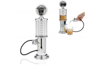 Gas Pump Whiskey / Bourbon Decanter - Liquor Dispenser for Vodka, Rum, Wine, Tequila or Scotch- Decanter is Glass with Stainless