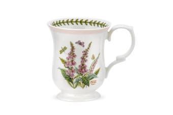 PORTMEIRION BOTANIC GARDEN TERRACE Bell shape mugs asst set of 4