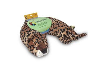 (Leopard) - Critter Piller Kid's Neck Pillow, Leopard