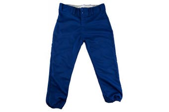 (Large, Royal) - Alleson Ahtletic Women's Fastpitch/Softball Belt Loop Pant