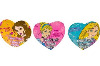 Princess Magic Towel set of 6