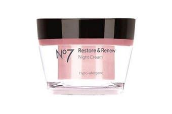 No7 Restore & Renew Night Cream 50 ml