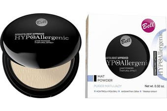 Bell HYPOAllergenic MAT POWDER Matifying powder for sensitive skin 01.