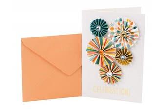 (Paper Pinwheels) - Hallmark Signature Birthday Greeting Card