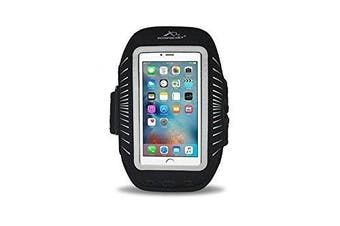 (Large Strap) - Armpocket Racer Plus armband for iPhone 6S/6 Plus, iPhone 7 or 7 Plus and Galaxy S7 and S6 edge