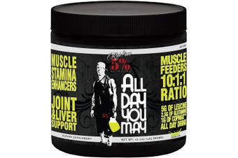 5% Nutrition 465 g Lemon Lime All Day You May Amino Acids