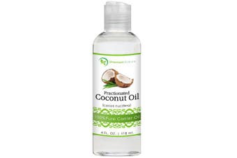 Coconut Oil, Natural Carrier Oil 120ml, Nourishes Skin, For Face & Body, Moisturises & Repairs Damaged Hair, Anti-Bacterial & Anti-Fungal Properties - By Premium Nature