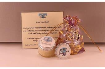 (Key Lime Pie) - Bimble Love Your Lips Balm & Scrub Gift Bag (Key Lime Pie)