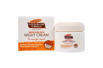 Palmers Moisture Rich Night Cream for Overnight Renewal 80ml