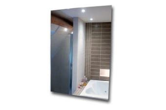 (2) - Acrylic Mirror Sheets Anti-Shatter Safety Mirror Plastic Perspex Tiles (2)