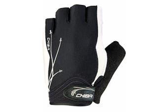 (Large, Black - black) - Chiba Lady Gel Women's Cycling Gloves, Womens, Fahrradhandschuhe Lady Gel
