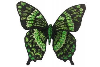 Butterfly iron on patch embroidered applique sew on embroidery