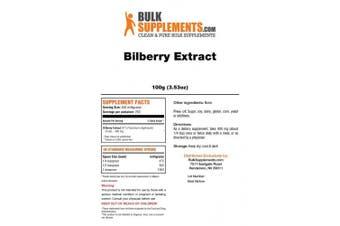Bulksupplements Pure Bilberry Extract Powder (100 grammes)