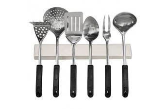 (41cm ) - AOMAG 41cm Stainless Steel Magnetic Knife Holder, Stainless Steel Magnetic Knife Bar Strips