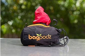 (5 bags, Cayenne Red) - BagPodz Reusable Bag and Storage System - Cayenne Red (Contains 5 Bags)