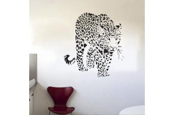 (Tiger 2) - ChezMax DIY Wall Sticker Decal Mural Removable Self Adhesive Paper Art Deco Tiger 60cm x 60cm
