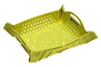 (1) - Kitchenized by Chef Mori Silicone Mat/Strainer/Sink Mat/Food Basket/Trivet/Drying Mat