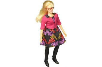 The Big Bang Theory Bernadette Deluxe 20cm Action Figure
