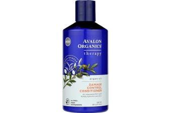 (14 Fluid Ounce, Argan Oil Damage Control) - Avalon Organics Argan Oil Damage Control Conditioner, 410ml