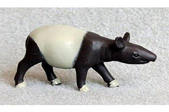 Tapir Terry 5.7cm plastic Asian Malayan tapir toy - F4096 B52
