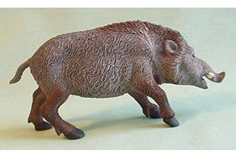 Wild Boar 14cm plastic animal - F159 B24