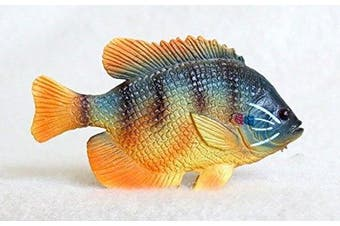 Pumpkinseed Plastic Fish realistic 6.4cm long - F3434 B89