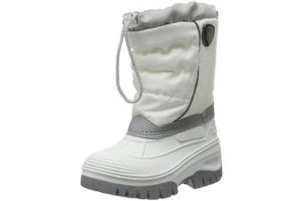 (10 UK Child, Silber (Argento A604)) - CMP Unisex Kids' Hanki High Rise Hiking Shoes