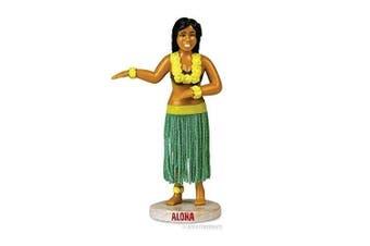 Dashboard Dancing Hula Girl Green by Accoutrements