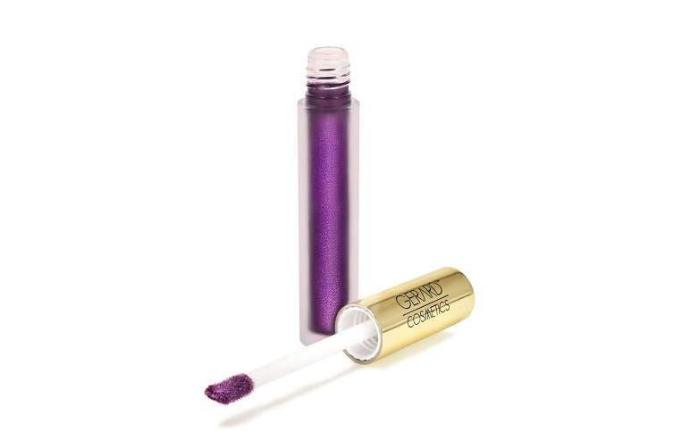 (GRAPE) - Gerard Cosmetics Metal-Matte Liquid Lipstick - Grape Crush