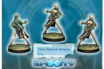 Tohaa Diplomatic Delegates (1) Tohaa Infinity Corvus Belli