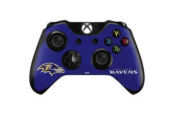 NFL Baltimore Ravens Xbox One - Controller Skin - Baltimore Ravens Distressed Vinyl Decal Skin For Your Xbox One - Controller