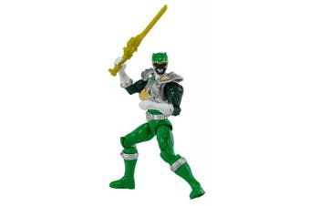 Power Rangers Dino Super Charge - 13cm Dino Drive Green Ranger Action Figure