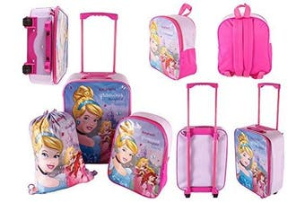 Disney Princess kids super lightweight 3 pieces set.