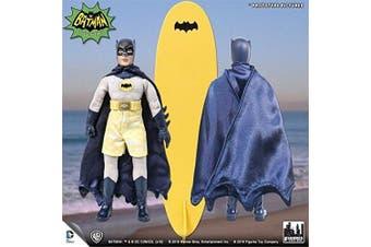 Batman Classic 1966 tv series Retro Action Figure; Surfing Series Batman & surfboard