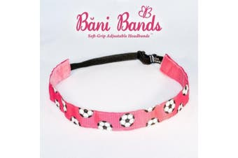 Bani Bands Women's Sequin Adjustable Headband with Non-Slip Lining