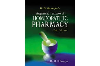 Textbook of Homoeopathy Pharmacy