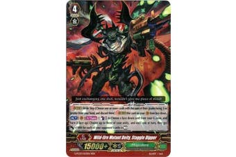 Cardfight!! Vanguard TCG - Wild-fire Mutant Deity, Staggle Dipper (G-FC03/023) - Fighter's Collection 2016 by Cardfight!! Vanguard TCG