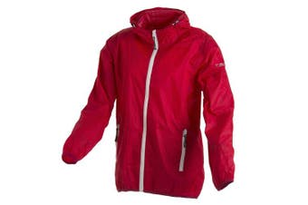 (128 (EU), Red - Better-Magenta) - CMP - F.LLI Campagnolo Girls' Rain Jacket